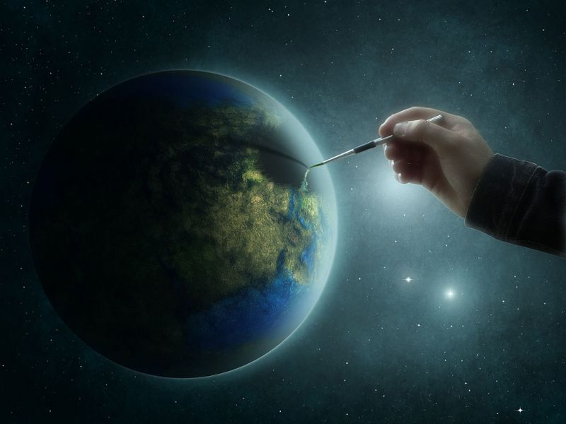 Educação infantil: Contando sobre a criação do mundo para os pequenos: Dia 1