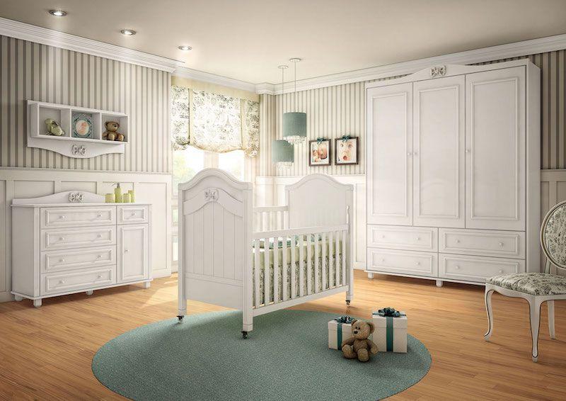 Como escolher os móveis para quarto de bebê?