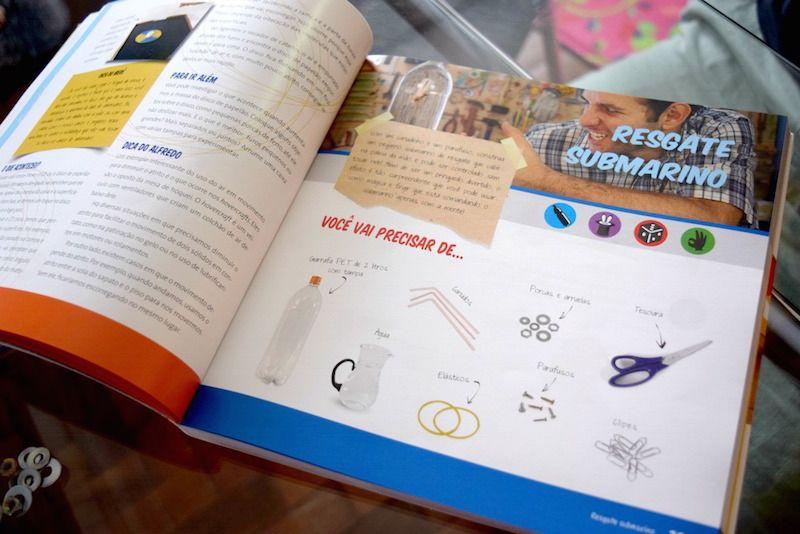 Educação Infantil: 50 Experimentos para fazer em casa | livro