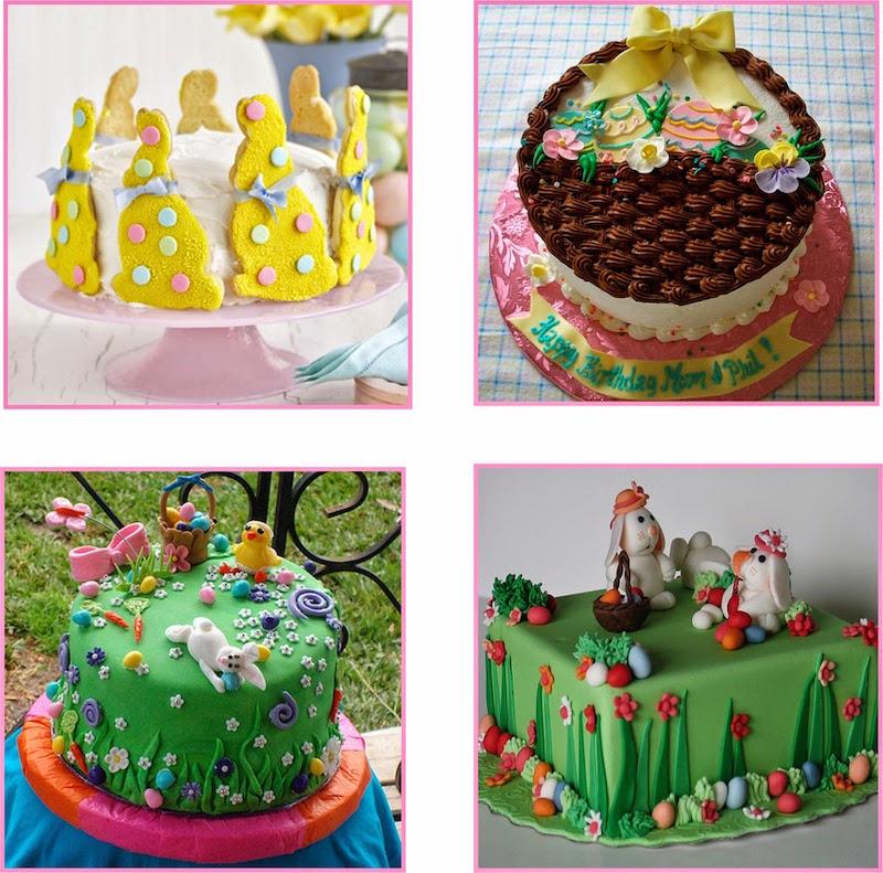 Ideias De Pascoa ~ 22 ideias de bolos de páscoa lindas e que voc u00ea mesma pode fazer