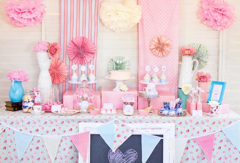 decoração-festa-infantil-pompons