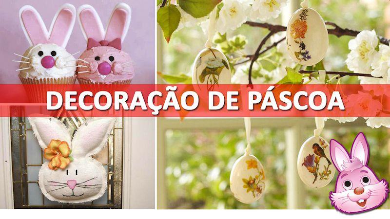 Páscoa – 26 Ideias de decoração para sua casa
