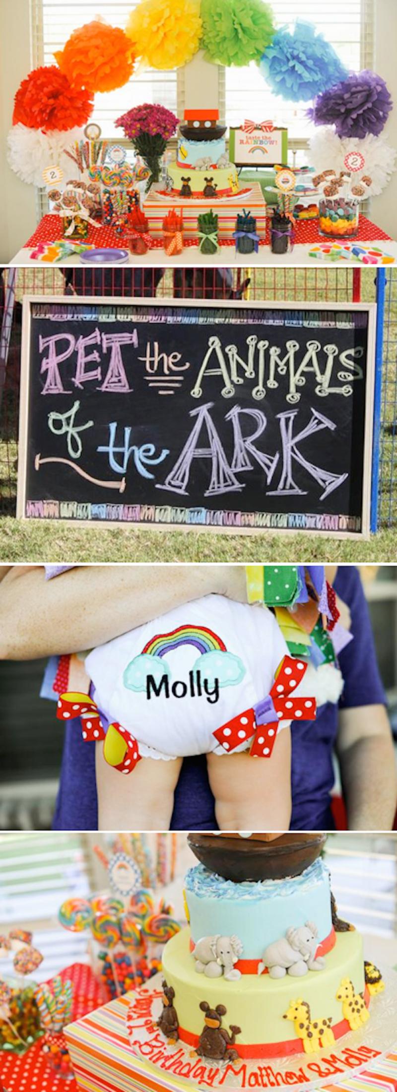 festa-infantil-arca-de-noé-colorida
