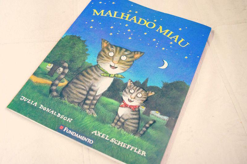 Livro Infantil: Malhado Miau