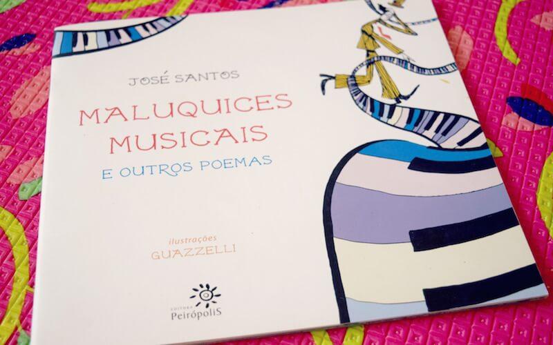 Livro infantil: Maluquices Musicais