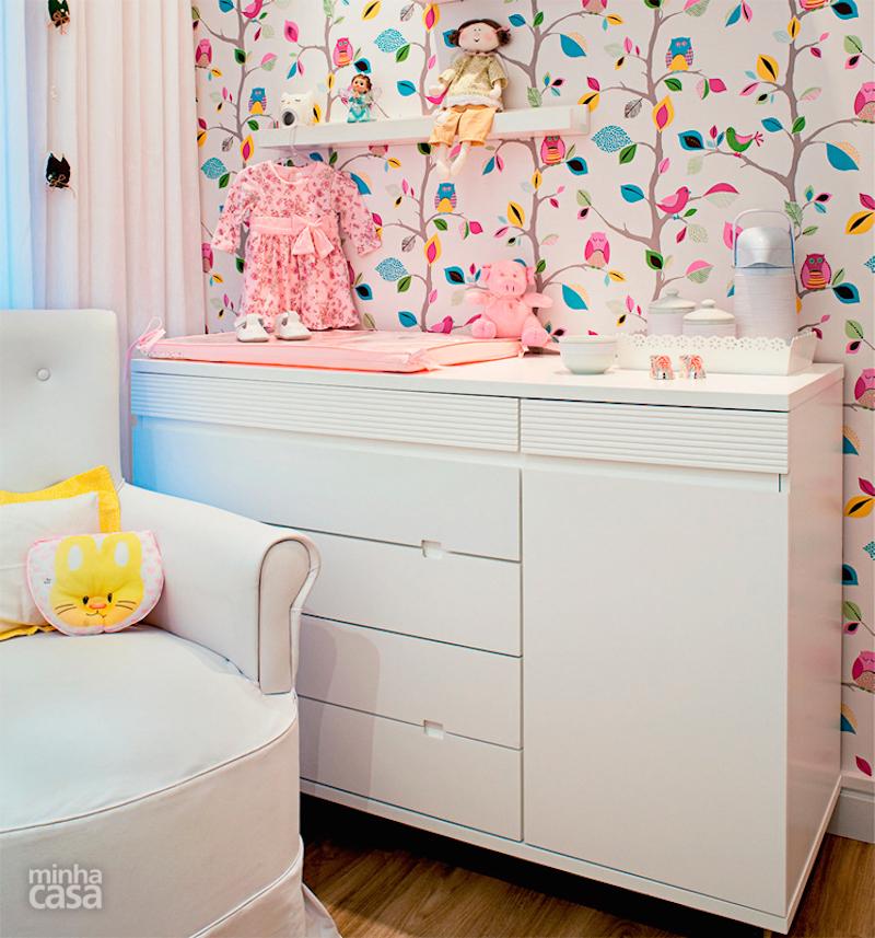 Decoracao Quarto De Bebe Azul E Rosa ~ 26 Ideias de Papel de Parede para quarto infantil