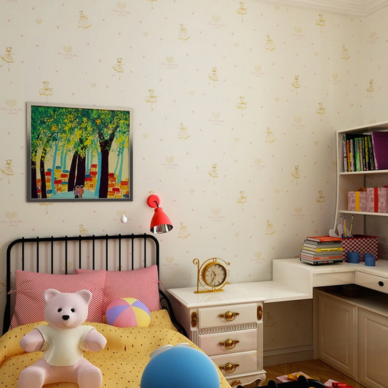 26 ideias de papel de parede para quarto infantil - Papel para pared infantil ...