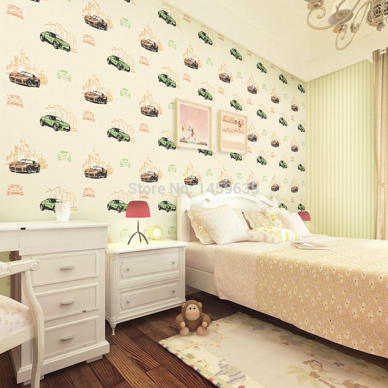 papel-de-parede-quarto-infantil-carros