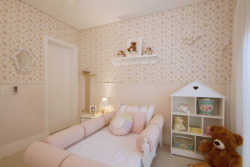 26 Ideias de Papel de Parede para quarto infantil ~ Como Fazer Um Quarto Rosa Habblive