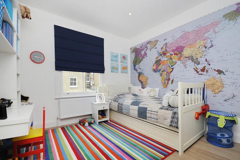 26 Ideias de Papel de Parede para quarto infantil