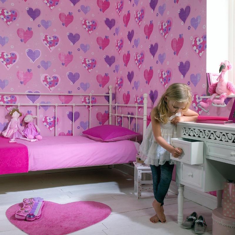 26 ideias de papel de parede para quarto infantil for Papel decomural infantil
