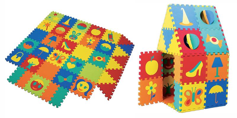 Brinquedos educativos: Tapete Casinha, diversão total para crianças!
