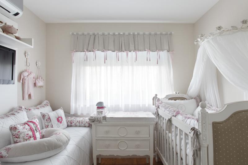 28 ideias de cortinas para quarto de beb s - Cortinas para habitaciones de bebes ...