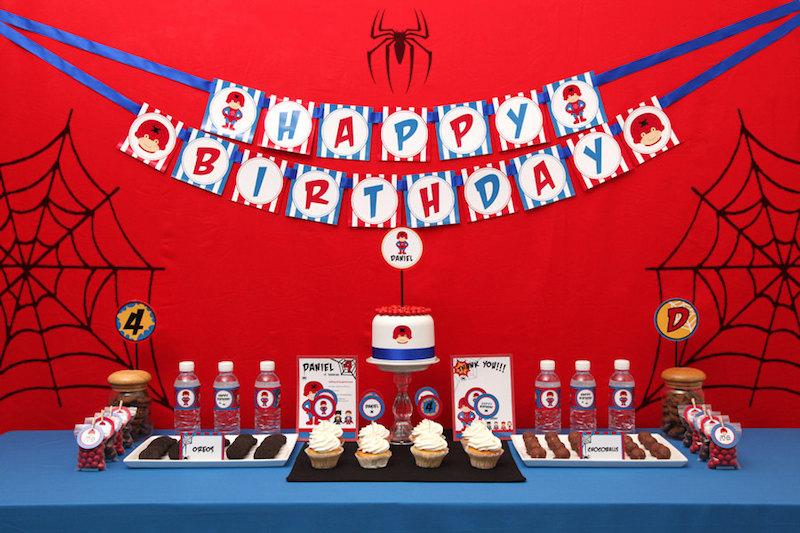 festa-infantil-homem-aranha-fundo-vermelho