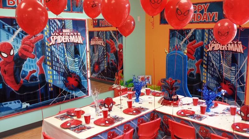 festa-infantil-homem-aranha-salão
