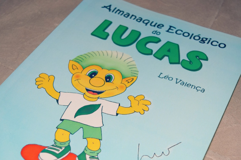 Livro Infantil: Almanaque Ecológico do Lucas