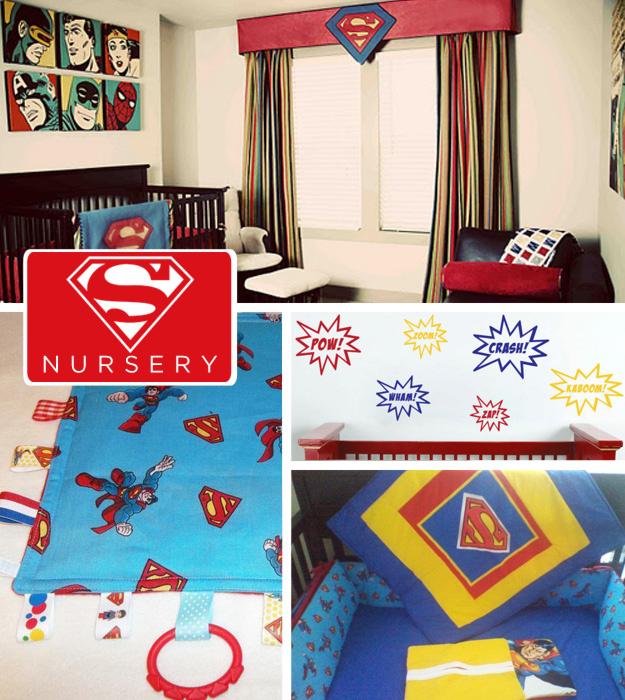 quarto-de-bebê-superman