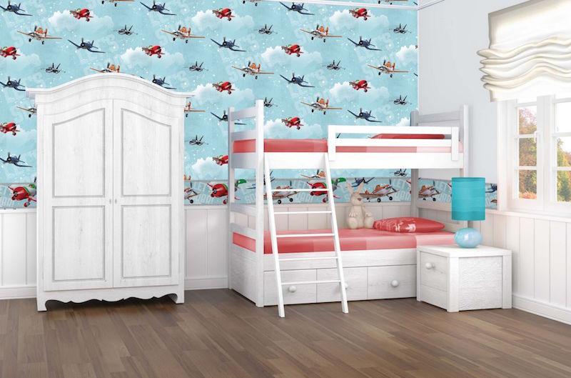 Como decorar um quarto infantil com tema Aviões