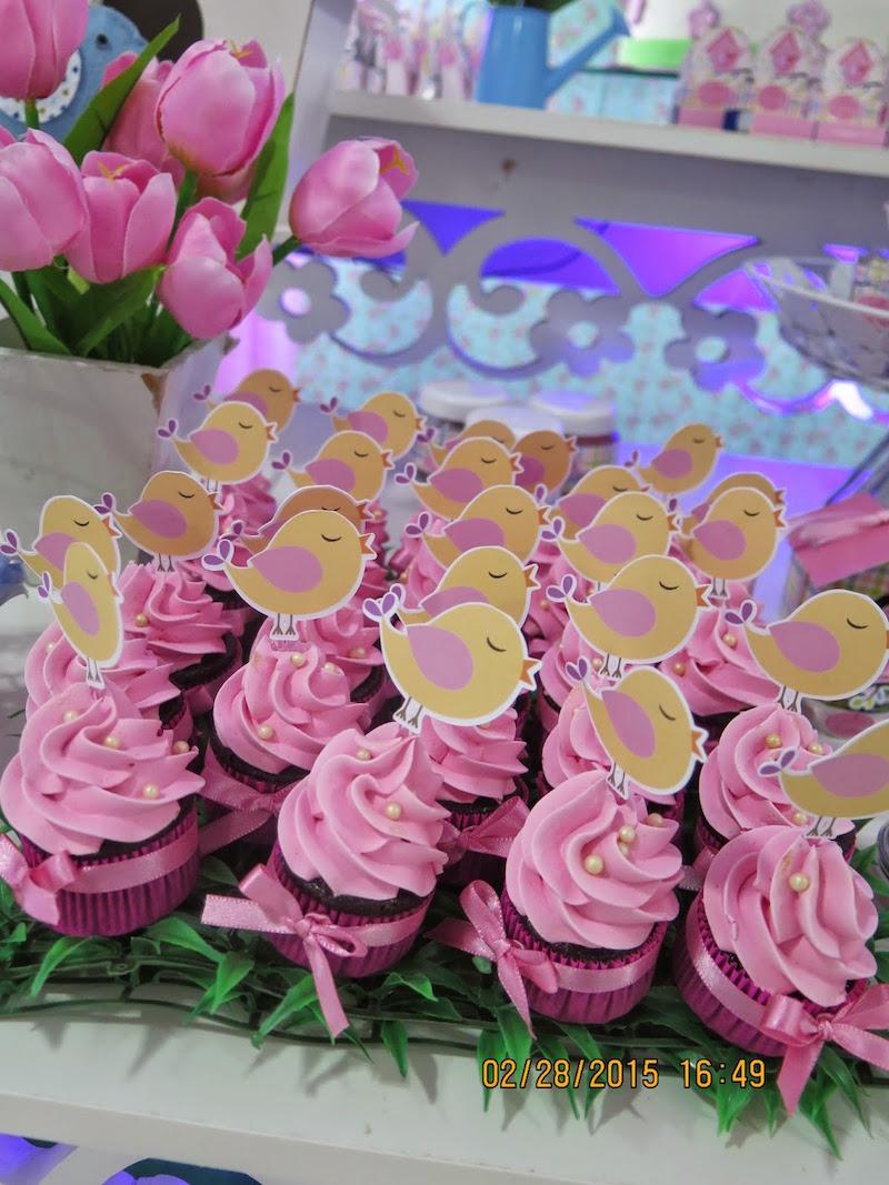 Agora confiram a decoração da festa Jardim Encantado e se inspirem