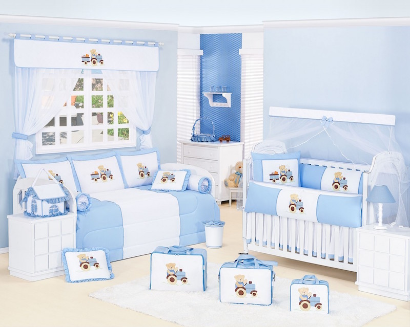 Quarto Azul para bebês, crianças e adolescentes ~ Quarto Para Bebe Masculino Azul