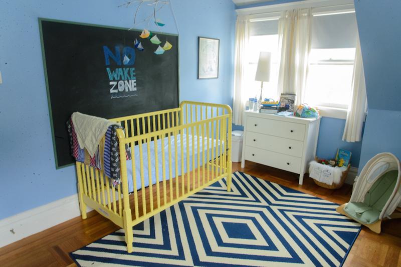 quarto-azul-simples