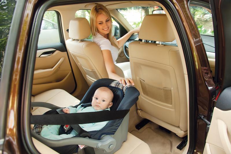 Como utilizar corretamente o bebê conforto, a cadeirinha e assento de elevação