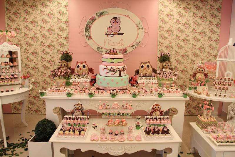 chá-de-bebê-coruja-rosa