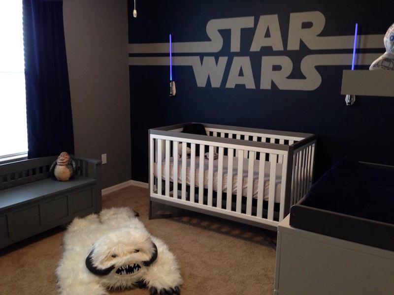 Quarto Star Wars para bebês e crianças