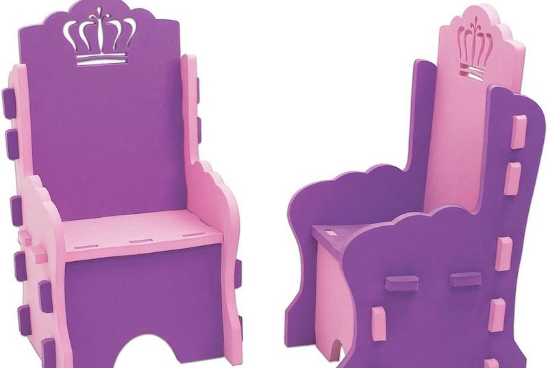 Poltrona Princesa – conforto e estilo para as pequenas