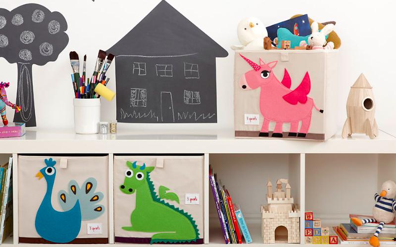 Como manter os brinquedos limpos, conservados e organizados