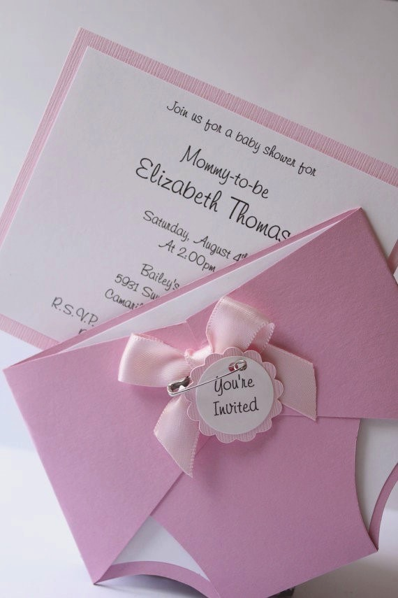 Nappy Invite Template with best invitations design