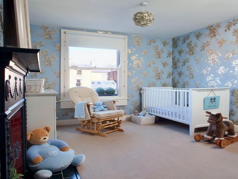papel-deparede-para-quarto-de-bebê-azul