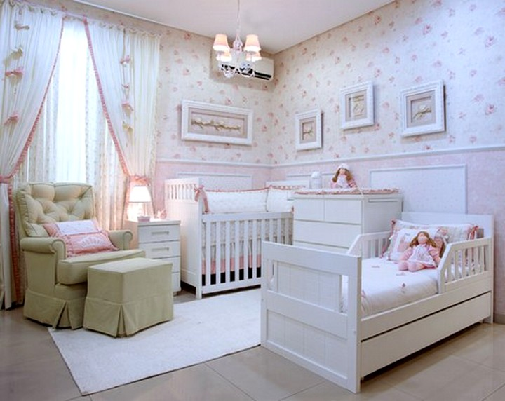 Decoração de Quarto Compartilhado Bebê e Criança