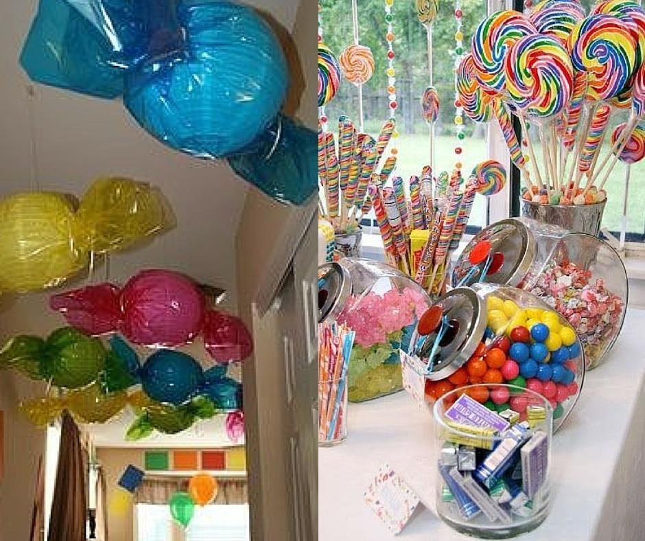 decoração festa infantil simples caseira