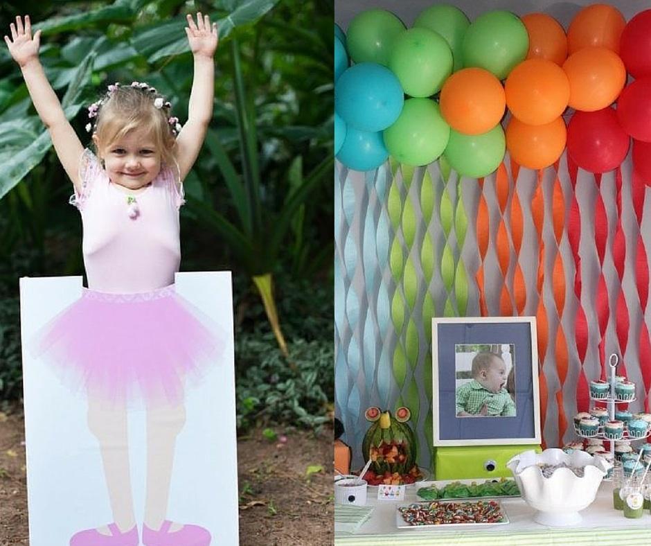 Decoraç u00e3o de festa infantil simples e fácil de fazer -> Decoração De Festa Havaiana Simples