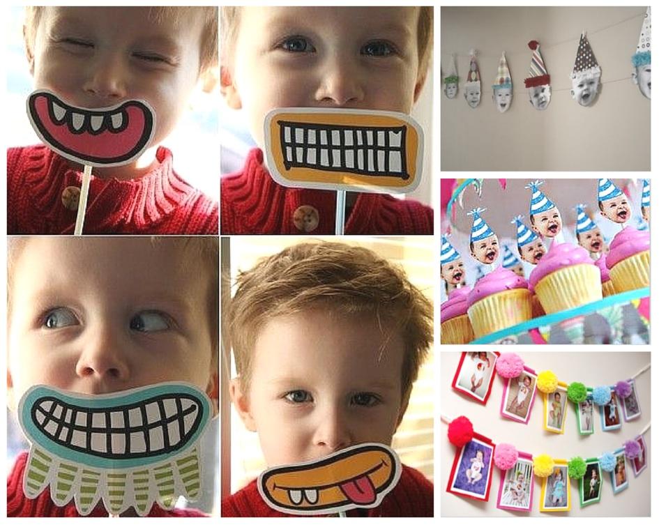 decoração festa infantil simples tema