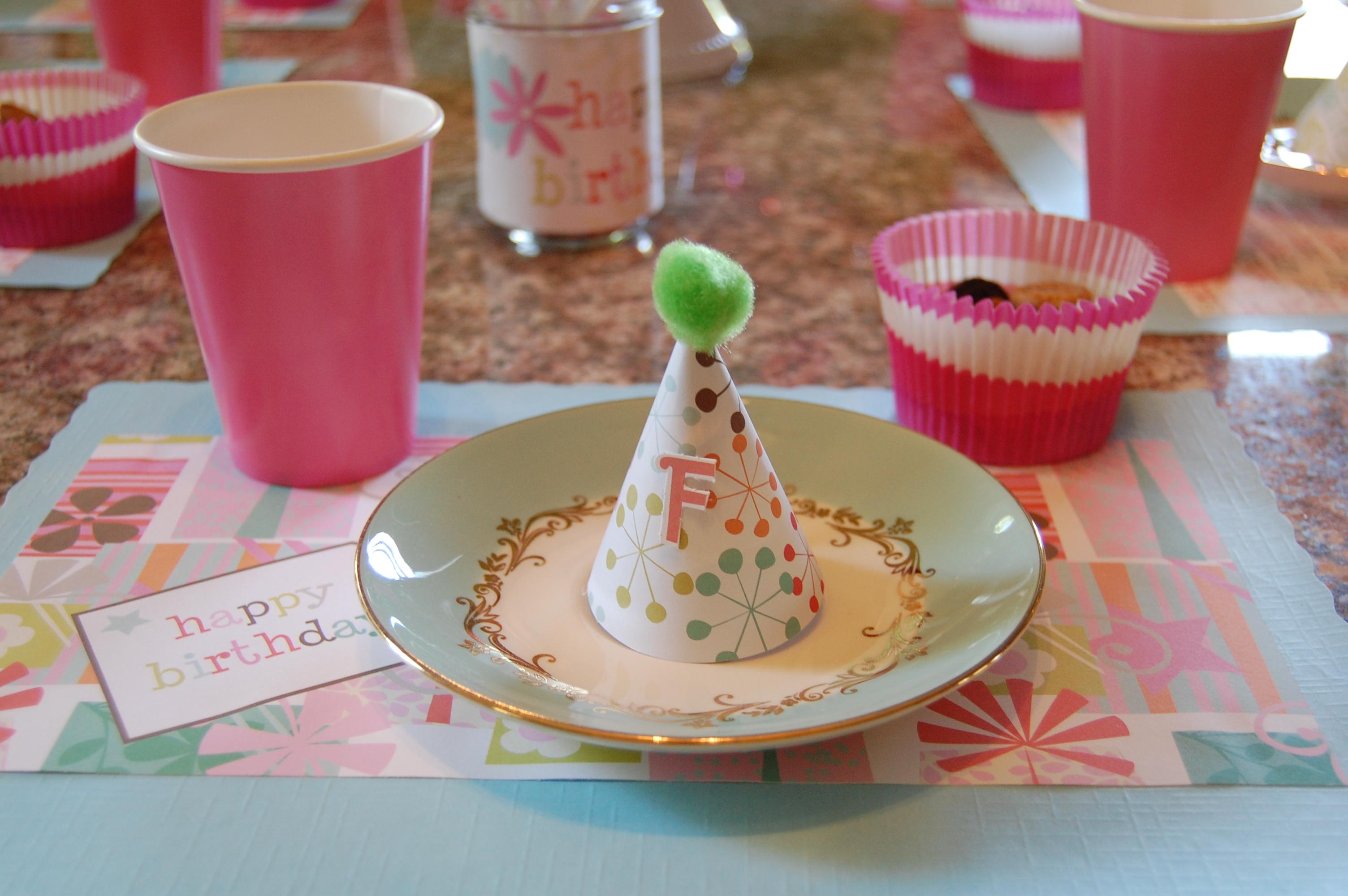 festa infantil caseira descartáveis