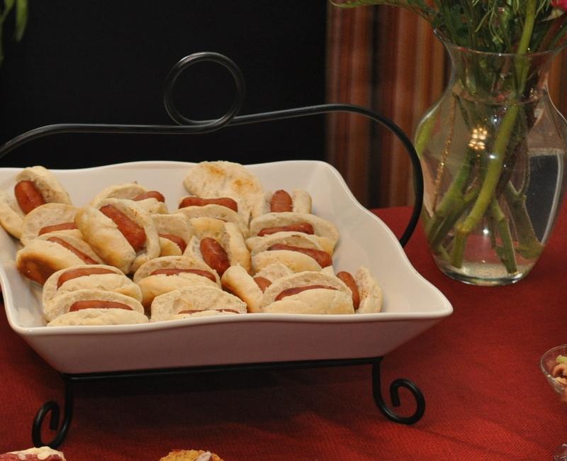 festa infantil caseira hotdogs