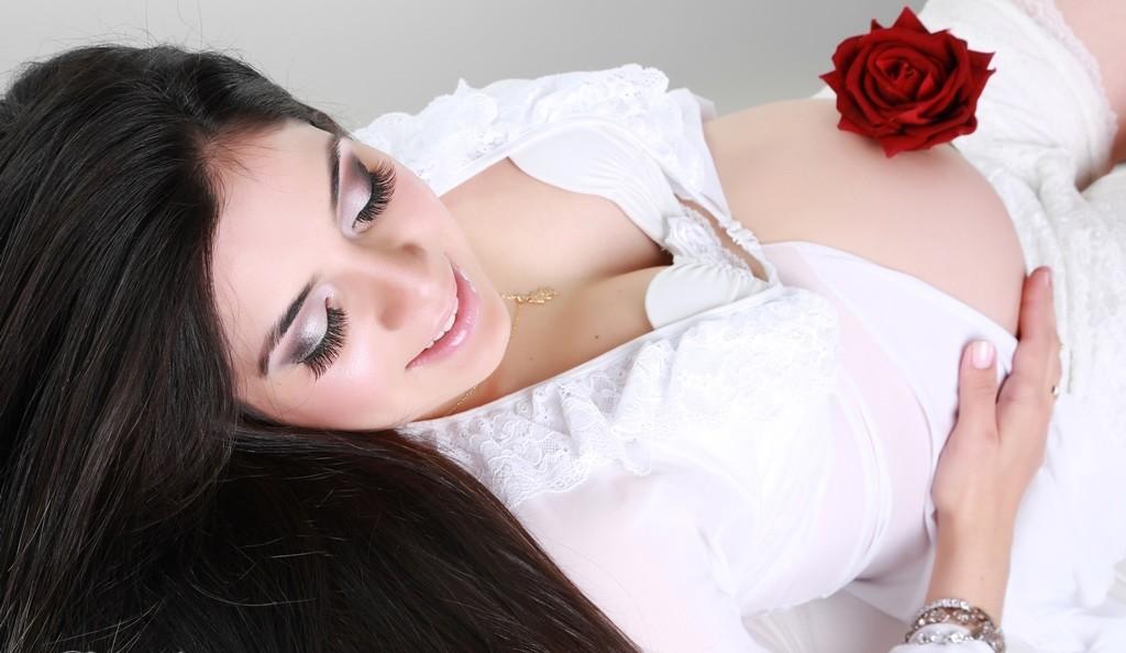 gestante-maquiagem