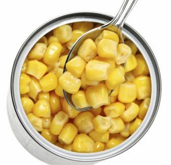 Alimentos perigosos para crianças Salmonella milho