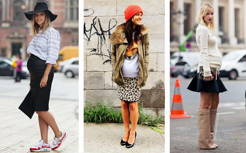 moda-gestante-saias