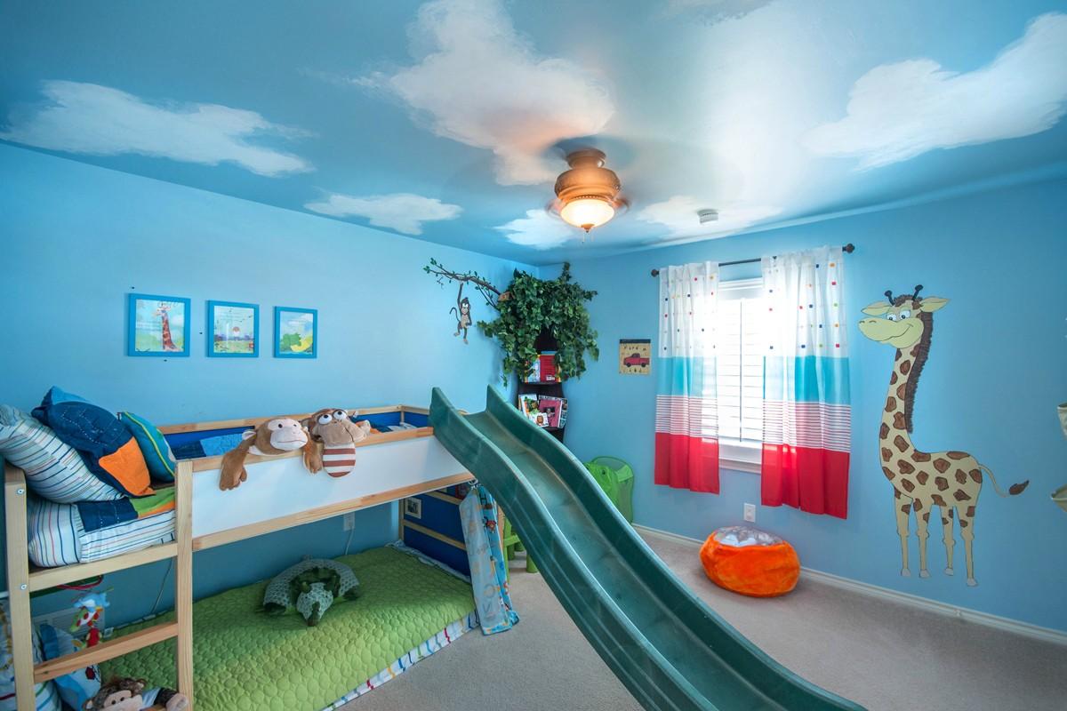 Inspirações Para Decorar Um Quarto Infantil Azul