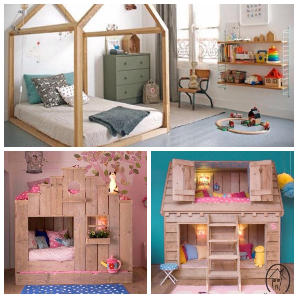quarto infantil camas divertidas casinhas