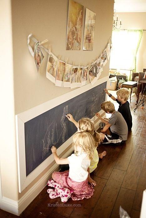 quarto infantil parede de lousa