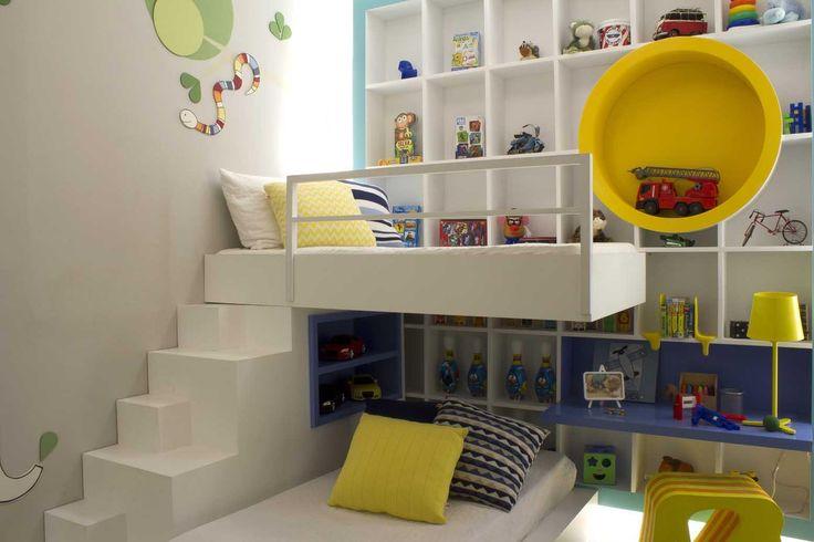 Quarto De Bebe Laranja Com Amarelo ~ ideias para quarto infantil amarelo