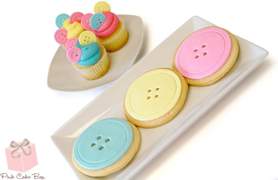 chá de bebê doces cupcakes