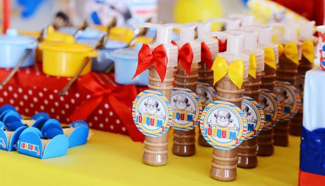 festa infantil menino maluquinho panelas