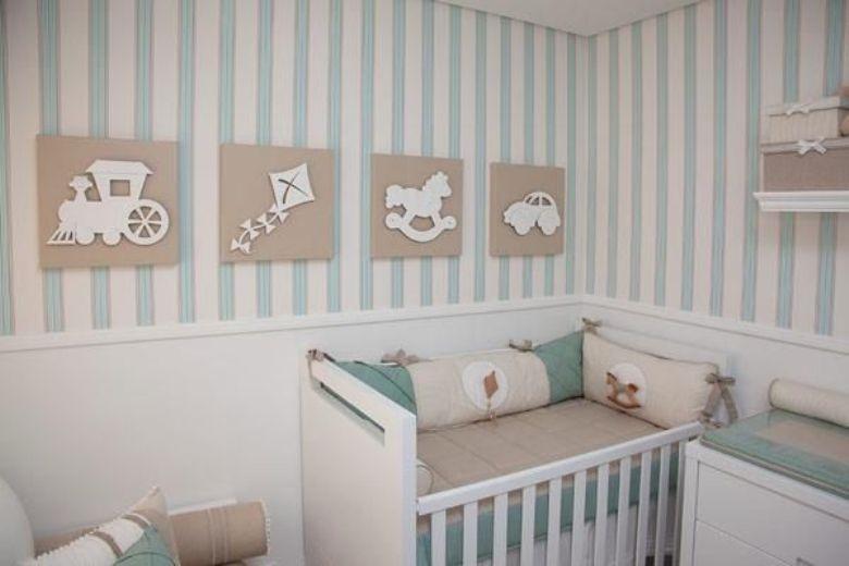 5 ideias para quarto de bebê pequeno (solução certa!)