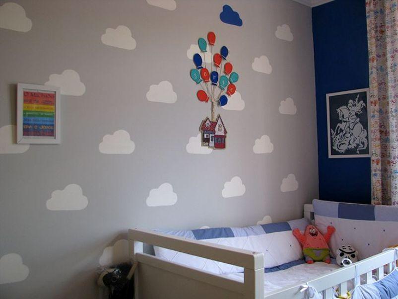 Quarto de bebê divertido: 8 ideias de papel de parede