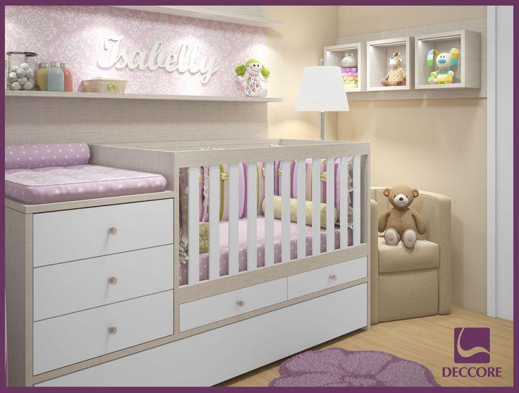 Soluc?es Para Quarto De Bebe Pequeno ~   de canto aproveita ainda mais o espa?o do quarto de beb? pequeno